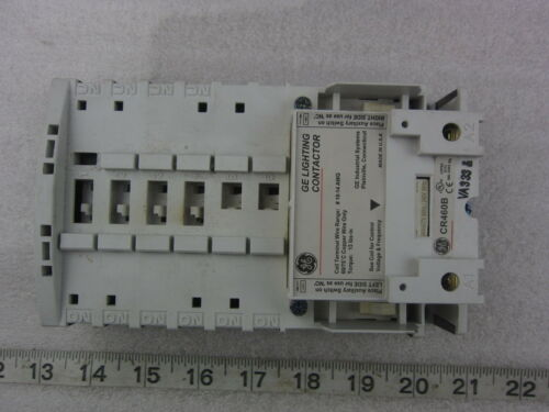NEW GE CR460B 4P Electrically Held Contactor 120v coil CR463L40AJA