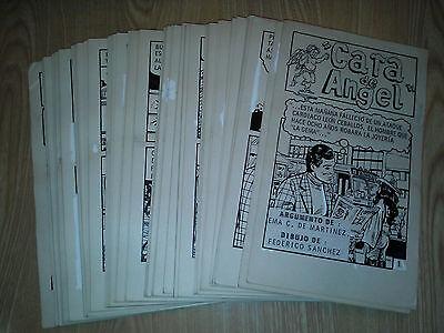 Mexican PULP SUSPENSE Romance ORIGINAL COMIC ART 1960s COMPLETE STORY 92 pages