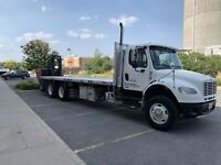 Flatbed driver