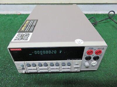 Keithley 2010 Digital Multimeter Built-in 10 Channel Scanner Main Frame