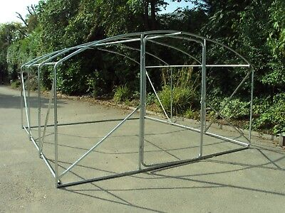 Shipped 1/5  Frame Only 4m x 3.5m Poly Tunnel Polytunnel Greenhouse Green House