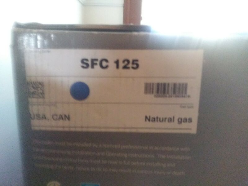 IBC SFC 125 Combi Boiler / Hot water Heater