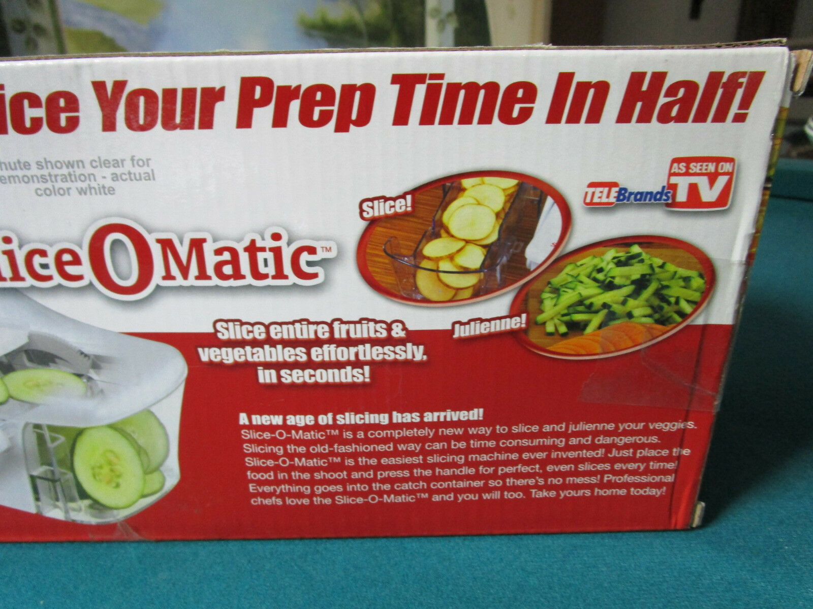 As Seen On Tv Slice O Matic Food Slicer And Weight Watcher Scale Nib