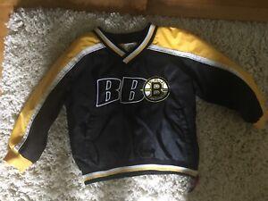 Boston Bruins jacket size 3