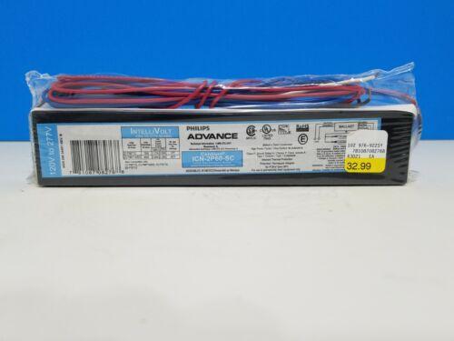 Philips Advance ICN-2P60-SC Fluorescent Light Ballast 2 lamp 120/277 F96T12