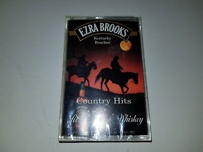 Ezra Brooks   Country Hits Real Sippin Whiskey   Cpsm 5115   Cassette Tape
