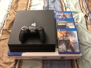 PS4 Pro 1TB - Almost Brand New!