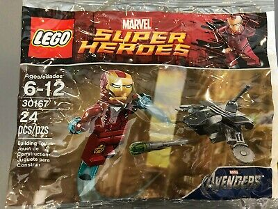Lego Marvel super heroes Ironman Avengers set 30167 Sealed polybag  Rare