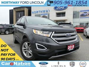 2018 Ford Edge SEL | NAV | PANO ROOF | REAR CAM | LOW KM |