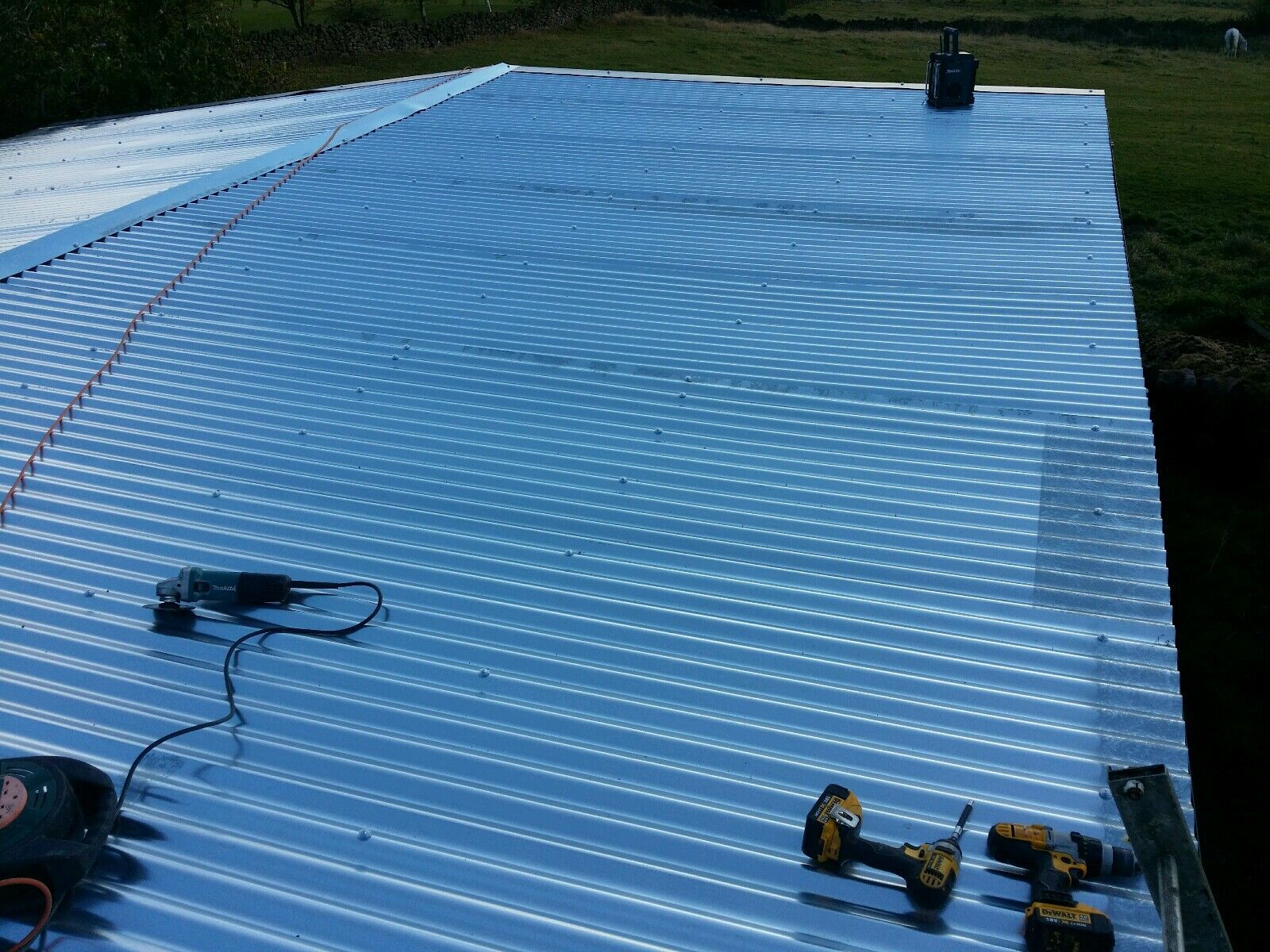 8ft 2 4m Galvanised Metal Corrugated Roofing Sheet