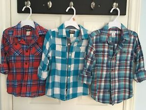 Size 5 flannel shirts