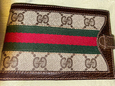Gucci Vintage Unisex Wallet Accessory Collection