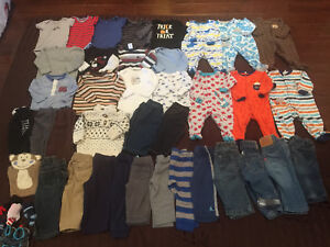6 to 12 baby boy lot