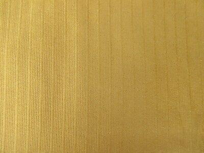 Vintage retro gold golden yellow fibreglass? curtain fabric 1.5yds myrefD