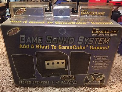 Intec Game Sound System For Nintendo Gamecube  Sealed  Low  Cheap