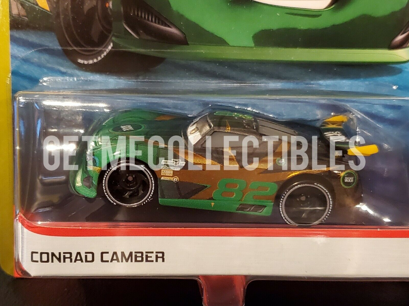 Disney PIXAR Cars 3 CONRAD CAMBER #82 * Shiny Wax Next Gen R