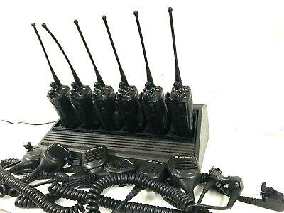 6 Motorola Xts5000 P25 Police Digital Radio Model Iii 700800mhz H18uch9pw7an