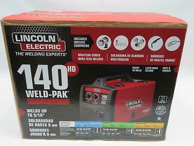 Lincoln Electric 140hd Weld Pak K2514-1 New