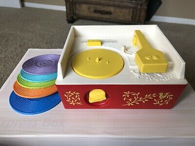 Fisher-Price vintage Music Box/Record Player toy