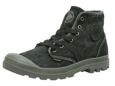 Palladium Men's Pallabrouse 02477-072 Ankle Boots Black Brand New