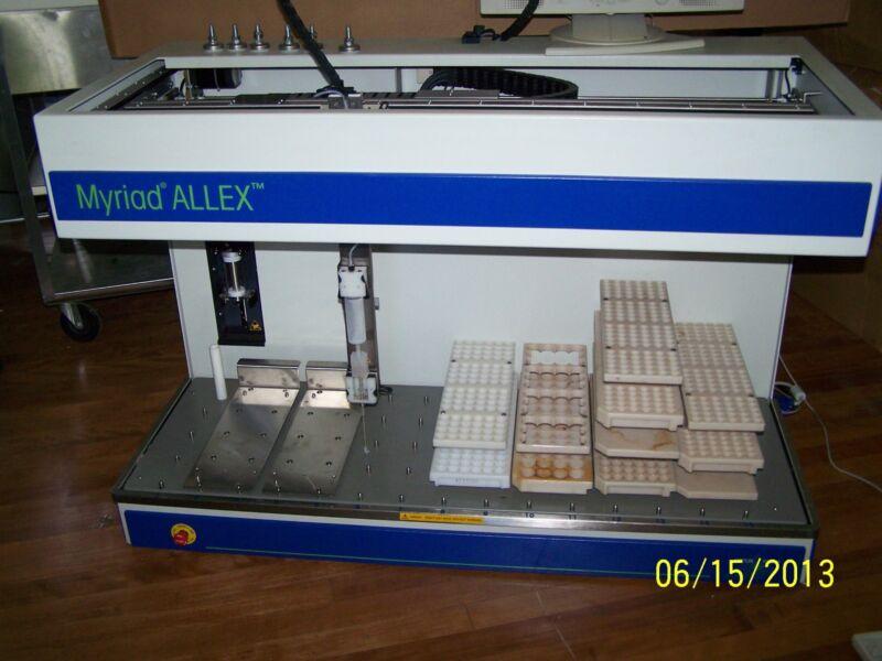 Mettler Toledo Myriad Allex Automated Workstation