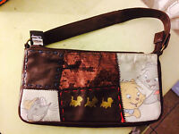 Borsa Originale Disney In Pelle Color Marrone Scuro - disney - ebay.it