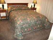 SHERIDAN  BELLVEDERE  DOUBLE  BEDSPREAD plus Quilt Cover Set Grange Charles Sturt Area Preview