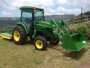 John Deere Tractor with implements, as new. Tallebudgera Gold Coast South Preview
