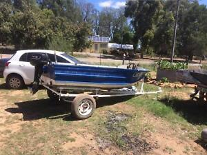 12 ft Quintrex tinny for sale