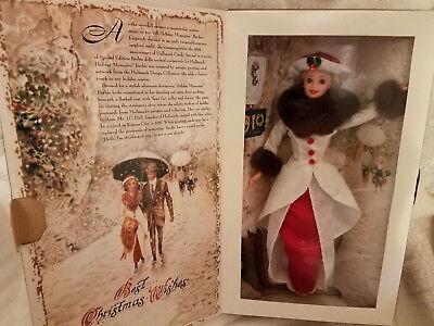 Holiday Memories Barbie Doll Hallmark 1995 Special Edition