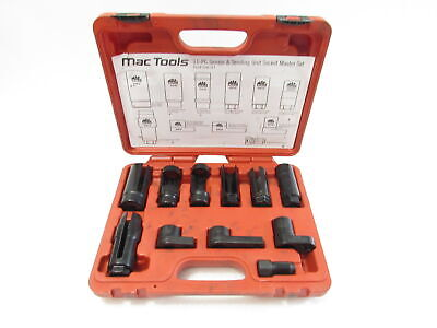 Mac Osw-Set 11-PC. Special Socket and Thread Chaser Set