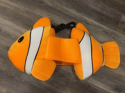 Orange Clown Fish Halloween Costume Plush 3d Adjustable Toddler Nemo 3 4 5 6 7