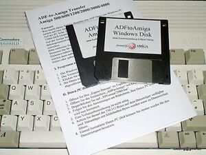 ADF-Transfer-Kit Amiga 500/600/1000/1200/2000/3000/4000