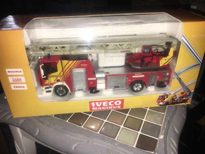 Eligor RARE 1/43 Iveco Magirus DK 23-12 CS Fire Swivel Head Fire Ladder Truck