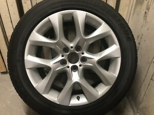 "BMW OEM 19"" Y Spoke Rims and Tires"