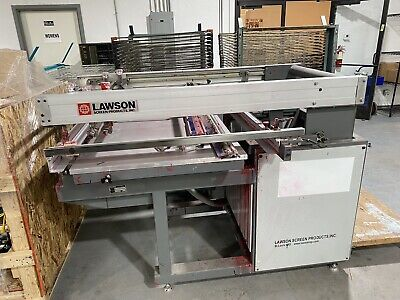 Lawson Mustang 25 Silk Screen 3 Racks 2x50 1x40 Working Business Maintained