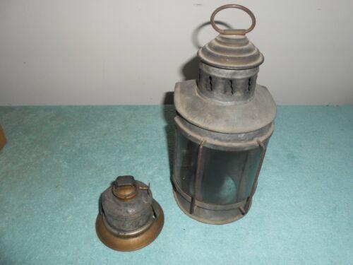 Vintage Ship Lantern Nautical Boat Oil Lamp Light
