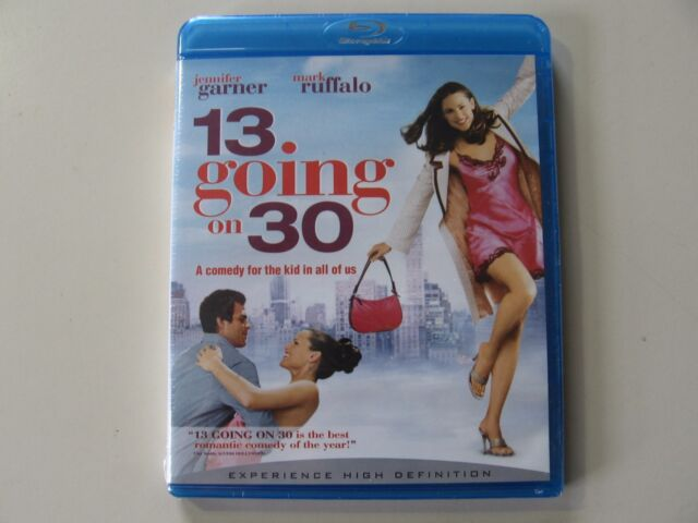 13 Going on 30 (Blu-ray Disc) Brand New and Sealed