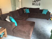Corner lounge with chaise Cambridge Park Penrith Area Preview
