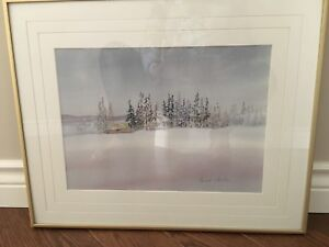 Original watercolour by Therese Johnson