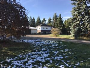 Prime acreage lot Sherwood Park with house