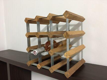 Wine rack - 9 bottles