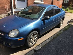 2003 Dodge Neon sold as is