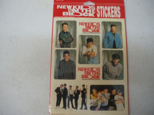1989 Vintage New Kids On The Block Stickers - BRAND NEW NKOTB