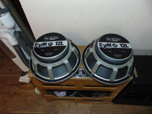 Electro-Voice EVM 12 in. speakers