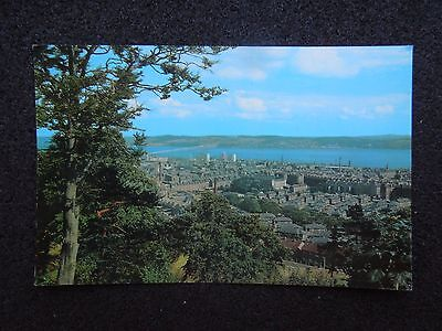 COLOUR POSTCARD OF DUNDEE FROM BALGAY HILL