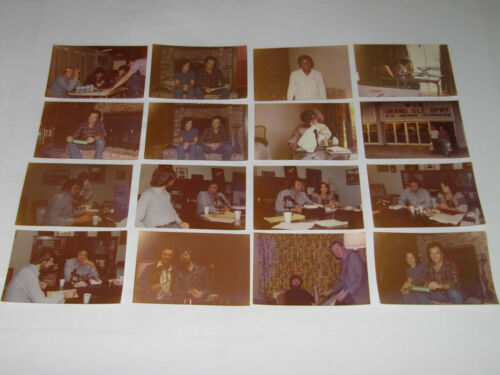 JOHNNY CASH / MERLE HAGGARD / JEANE PRUETT - 1976 PRIVATE PHOTOS    (PROMO)