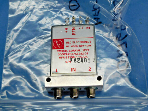 RLC 3003-2037AS282-01 Coaxial Switch 1P2T MFR-12598-S-5570A
