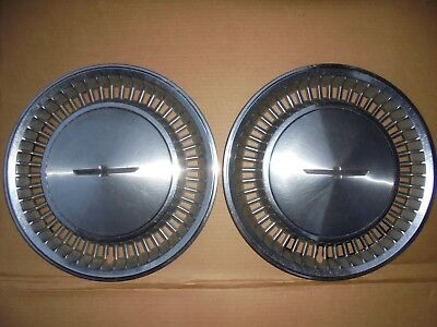 "80 81 82 FORD THUNDERBIRD 14"" WHEEL COVERS T-BIRD 1980 1981 1982"