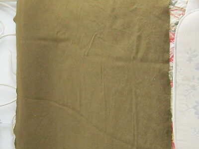 WWII US ARMY Olive Drab Wool Blanket,63 X 80 inches.